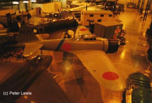 Mitsubishi A6M2-21 Zero Nº de Serie 5784 conservado en el RAAF Museum en Point Cook, Melbourne, Australia
