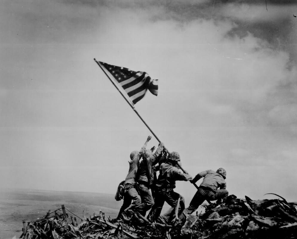 La famosa foto de Iwo Jima
