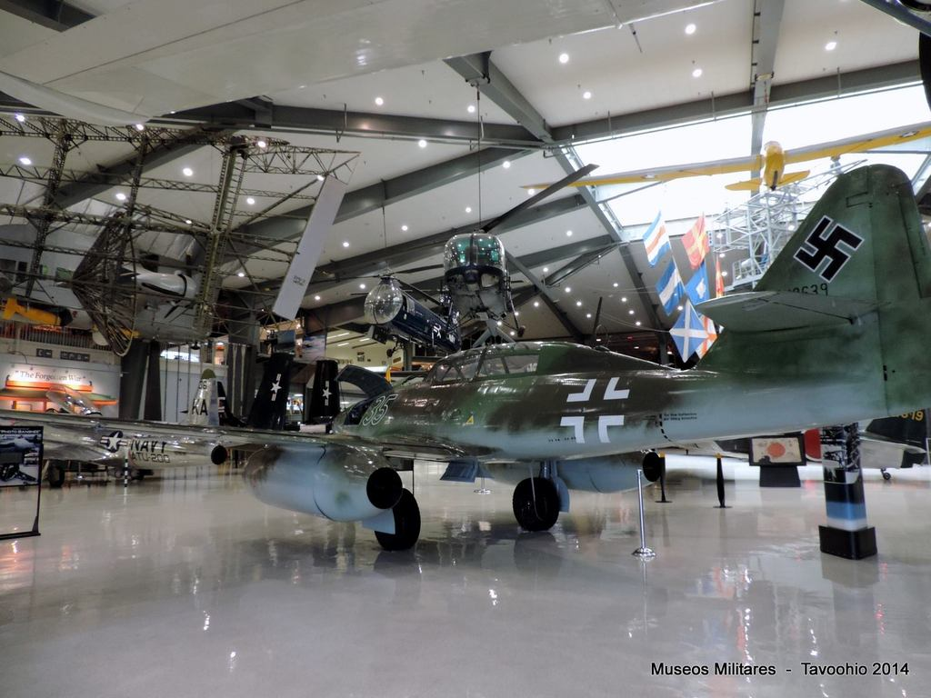 Messerschmitt Me 262 B-1a two-seat - WWII - National Naval Aviation Museum